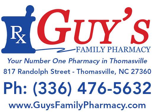 Guys pharmacy thomasville north carolina